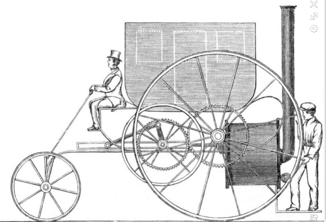 1803 TREVITHICK CARRIAGE