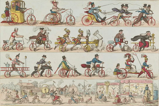 1818 CURRICLE POSTER