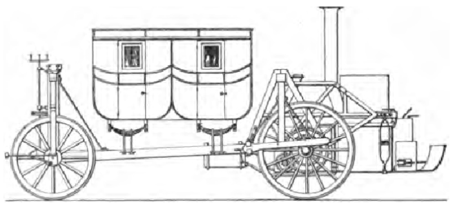 1821 BRAMAH STEAMER