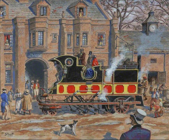 1824 DAVID GORDON STEAMER