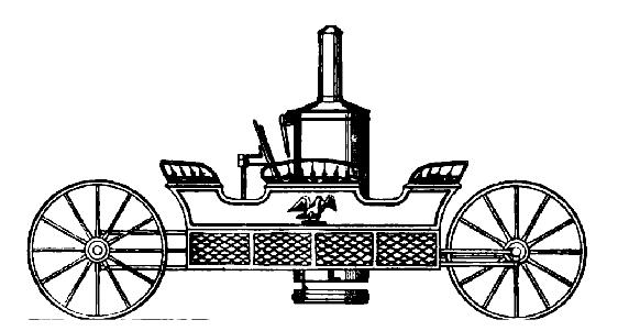 1854 FISHER STEAMCAR