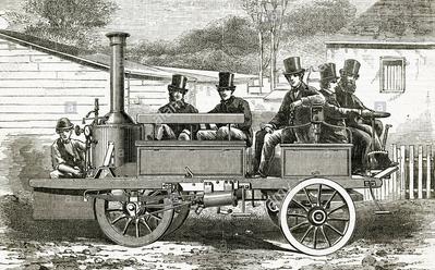 1861 COWAN STEAMER