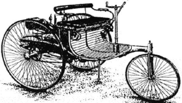 1885 BENZ ROSE