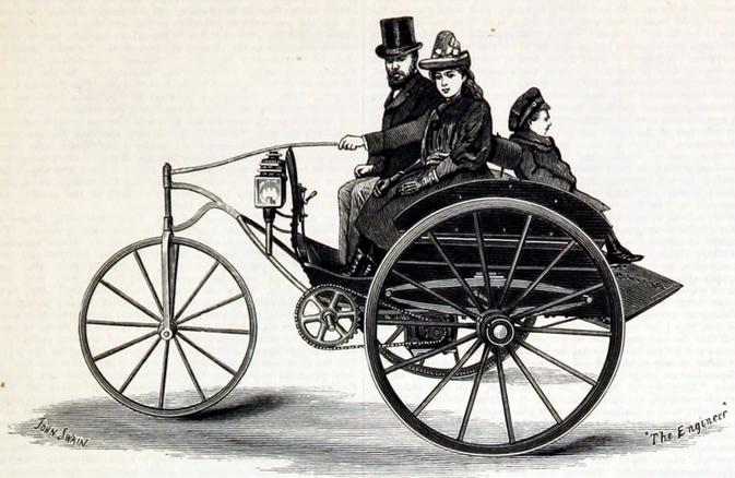 1888 VOLK ELECTRIC CART