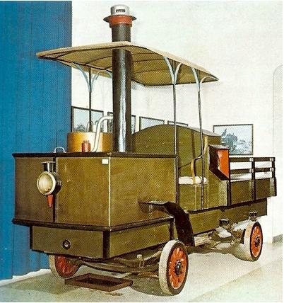 1889 DEDION STEAMCAR