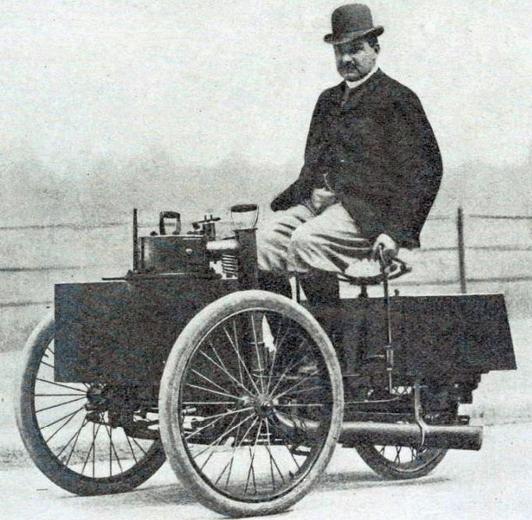 1889 DEDION STEAMTRIKE
