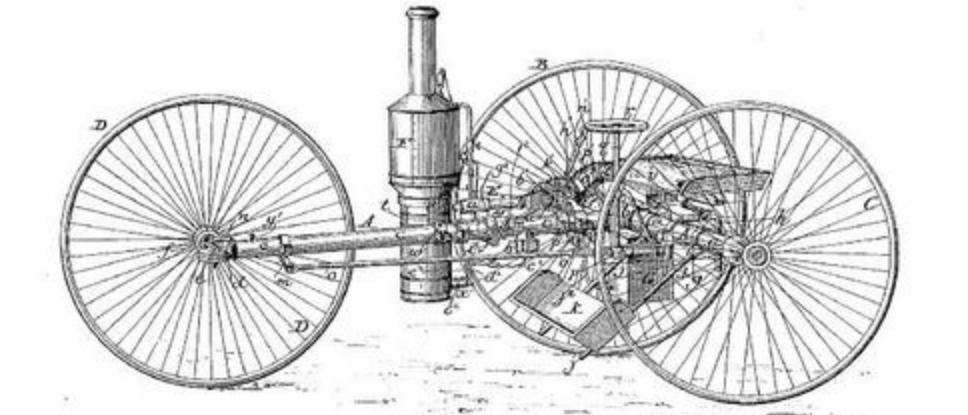 1889 SMITH STEAM TRIKE