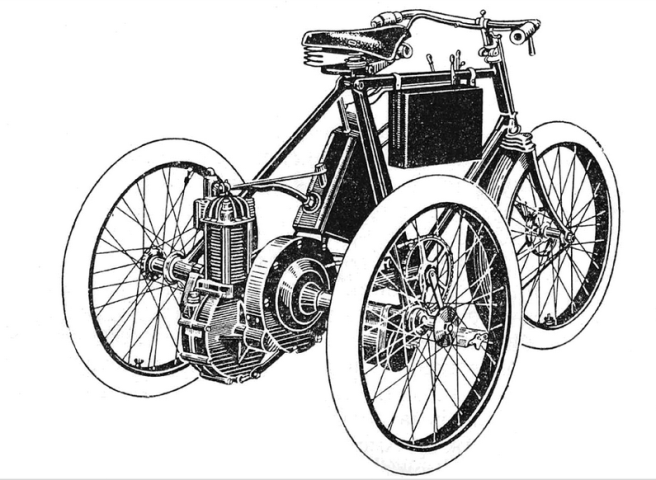 1899 LEITNER TRIKE