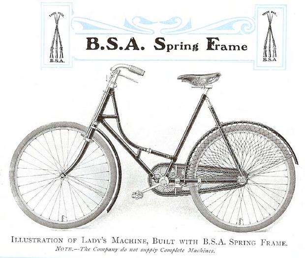 1900 BSA SPRINGER