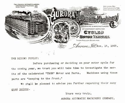 1903 AURORA AD
