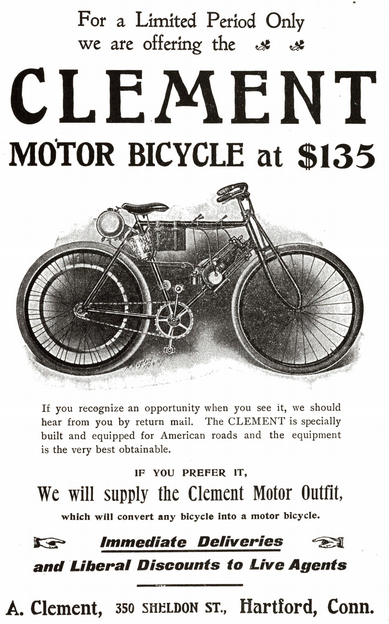 1903 CLEMENT AD