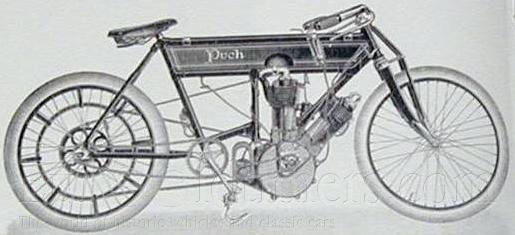 1905 V2 PUCH RACER