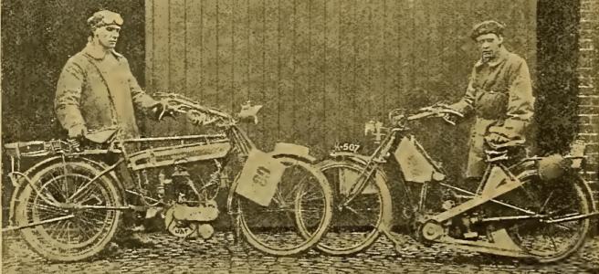 1912 2 NOVEL BIKES