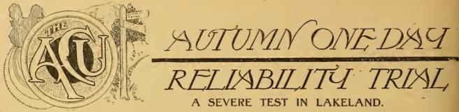1912 ACU AUTUMN TRIAL AW