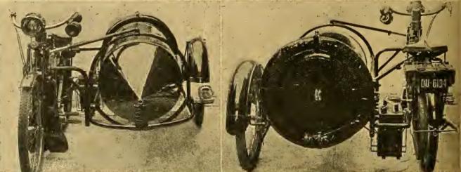 1912 GLORIA SIDECAR