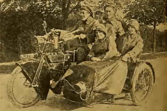 1912 NSUCOMBO LOADED