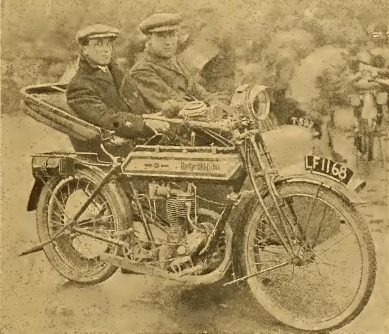 1912 SIDECAR DRIVERS