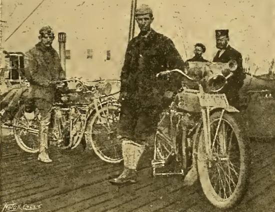 1912 US TOURISTS