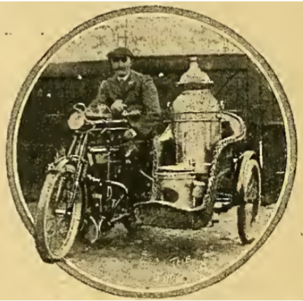 1912 MILK SIDECAR TURNER