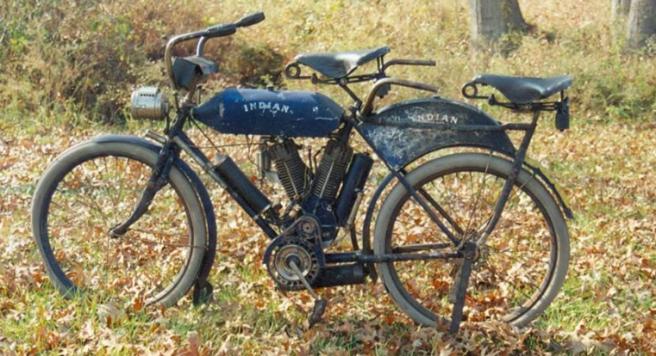 1908 INDIAN TWIN