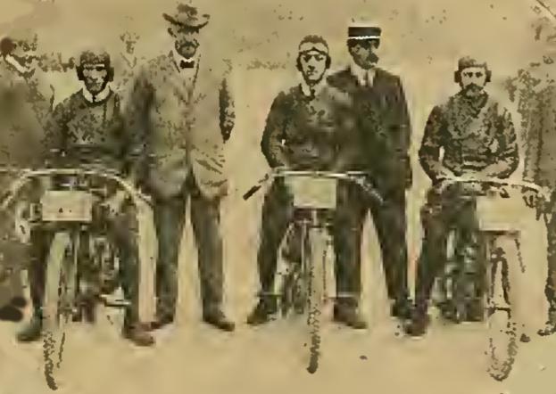 1913 6HR ENFIELD TEAM