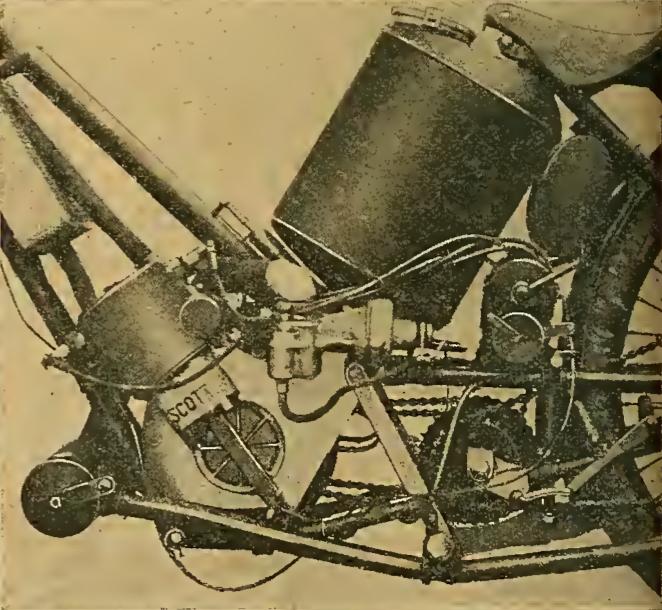 1913 6HR SCOTT ENGINE