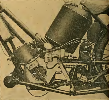 1913 6HR SCOTT ENGINE