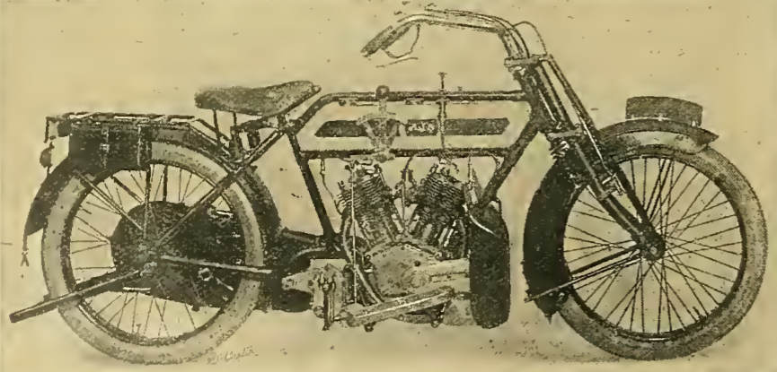 1913 AJS VTWIN