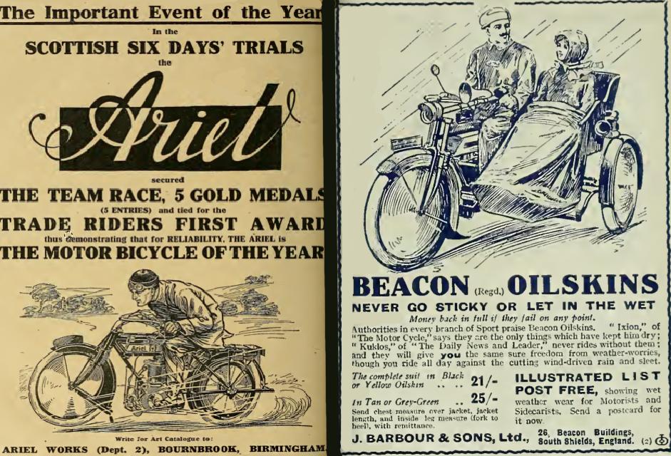 1913 ARIEL BARBOUR AD