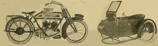 1913 BRADBURY TWIN SC
