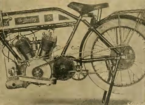 1913 BRADBURY TWIN