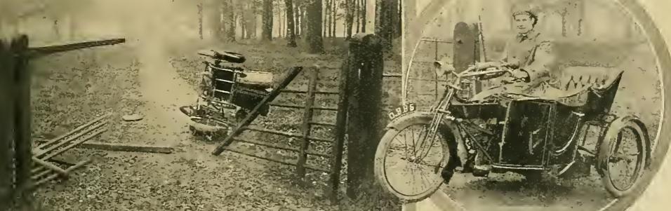 1913 ENFIELD CRASH