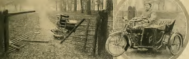1913 ENFIELD CRASH