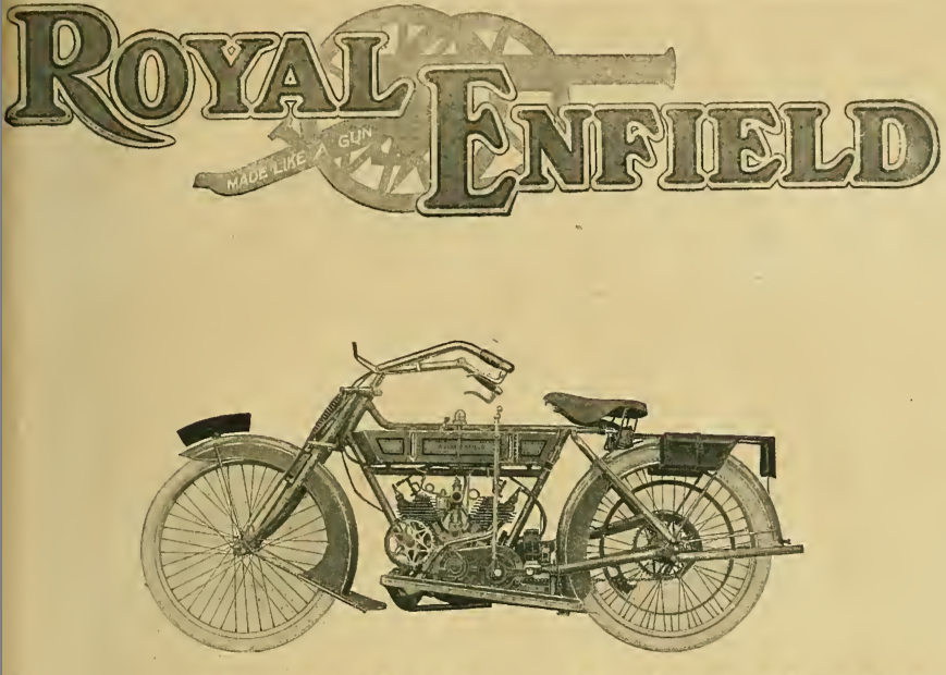 1913 ENFIELD INDIA AD