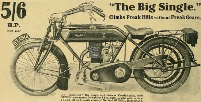 1913 EXCELSIOR AD