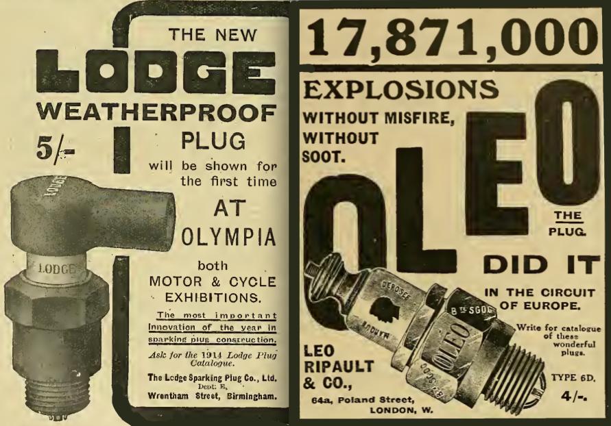 1913 LODGE OLEO AD