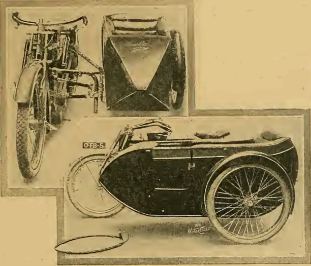 1913 MONOCOQUE SIDECAR