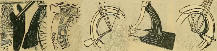 1913 MUDGUARDS