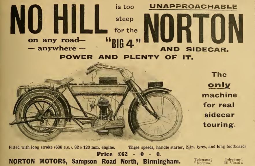 1913 NORTON AD