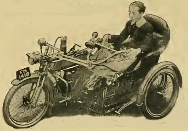 1913 SIDECAR STEER