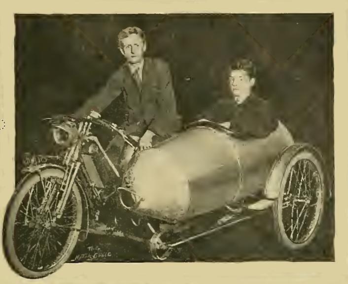 1913 SILVER SIDECAR