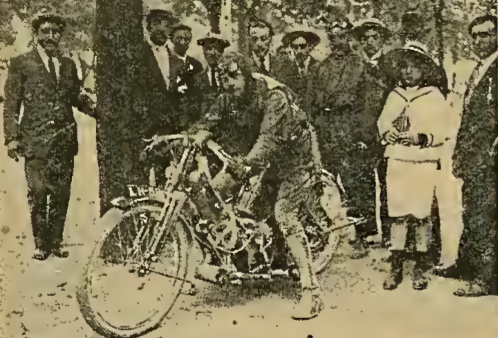 1913 SPANISH TT APPLEBEE