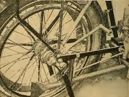 1913 TRIUMPH KICKSTART