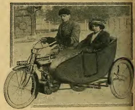 1913 VELOCE SIDECAR