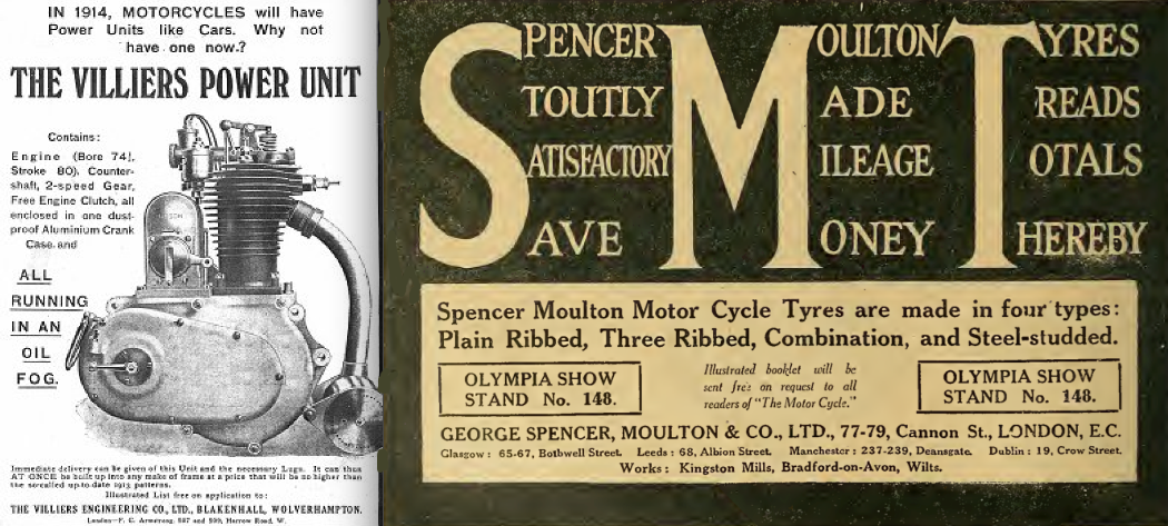 1913 VILLIERS SMT AD