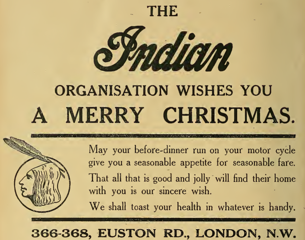 1913INDIAN XMAS AD