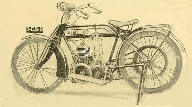 1914 ARIEL 349cc 2spd