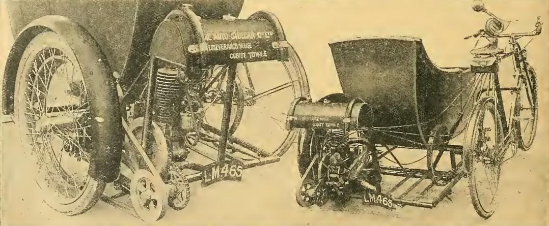 1914 AUTOSIDECAR