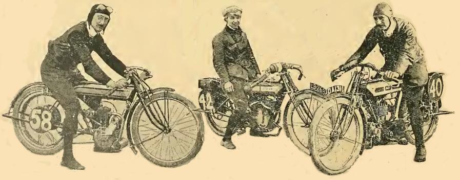 1914 BROOKLANDS MCC TRIO