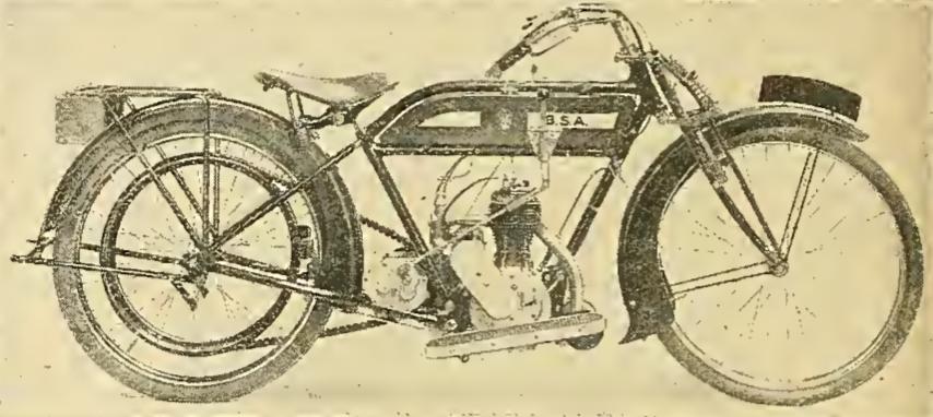 1914 BSA DEBUT